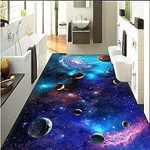 3D Boden Aufkleber Bad 3D-Tapete Boden Cosmic