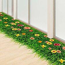 3D Boden Aufkleber DIY Gras Home Decor Aufkleber