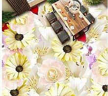 3d boden malerei tapete Dekoration Blumen 3D