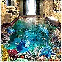 3D Boden Malerei Wandbild Fototapete Unterwasser
