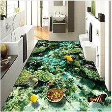 3D Boden Wandbild Tapete Ozean Wohnzimmer