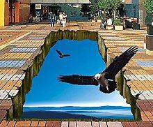 3D-Bodenbelag Big Eagle Flying Space 3D-Bodenbelag
