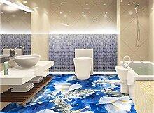 3d Bodenbelag Blumen Tapete für Wände 3 d