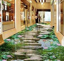 3D-Bodenbelag Individuelle Tapeten 3D-Wandbilder
