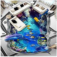 3D Bodenbelag Pvc Wasserdicht Selbstklebende