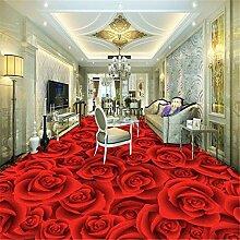 3d bodenbelag Rose Wohnzimmer Schlafzimmer Fliesen