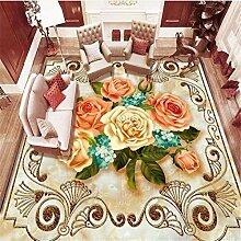 3d bodenfliesen Parkett marmor wohnzimmer 3d