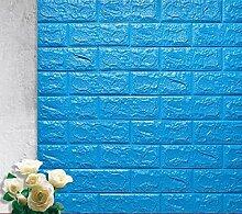 3d brick wallpaper- (10 Stück) DIY Wandfliese