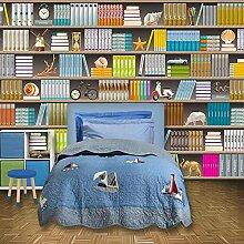 3D Bücherregal Bücherregal Foto Wand Wohnzimmer
