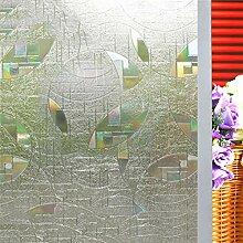 3D Bunt Glas-Film, Ohne klebstoff Statische