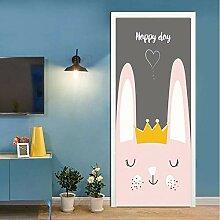 3D Cartoon Niedlichen Kaninchen Wohnkultur