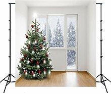 3D Christmas Pearl Lodge Fotografie Hintergrund