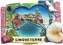 3D Cinque Terre Italien Kühlschrank
