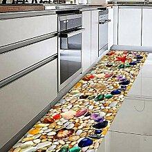 3D Dekorative Boden Aufkleber dicke
