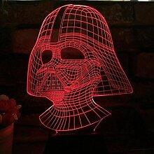 3D Dekorative Lampe LED Optische Täuschungen 7