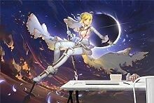 3D Den Nachthimmel 795 Japan Anime Tapeten Drucken
