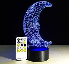 3D DJ Kopfhörer Nachtlicht Studio Musik Monitor