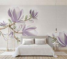 3D Dreidimensionale Magnolie Blumen Relief