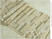 3D Dreidimensionale Ziegel Pvc Tapete,Retro Ziegel