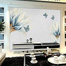 3D dreidimensionales Wohnzimmerpapier Modernes