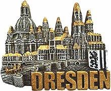 3D Dresden Deutschland Wahrzeichen