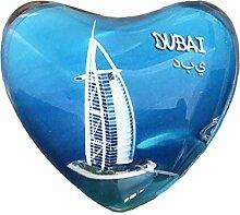 3D Dubai Kühlschrank Kühlschrankmagnet Kristall