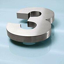 3D Edelstahl Hausnummer 16mm (3)