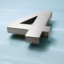 3D Edelstahl Hausnummer 16mm (4)