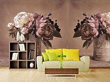 3D Eisenkiste Blume 355 Tapeten Drucken Abziehbild