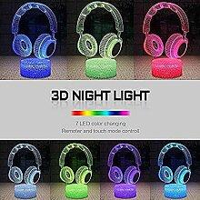 3D Eishockey Lampe LED Nachtlicht mit