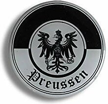 3D-EPOXY Aufkleber - Preussen - 303872/2 Gr. ca.
