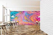 3D Farbe Wirbel 193 Muster Fliese Marmor Tapeten