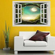 3D Fenster Wandtattoo Wandaufkleber Reben