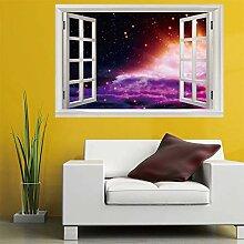 3D Fenster Wandtattoo Wandaufkleber streuung