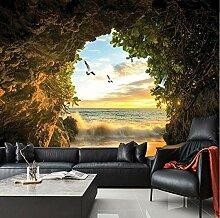 3D Foto Tapete Höhle Natur Landschaft TV