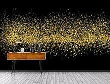3D Fototapete 3D Effekt Abstrakte Goldene