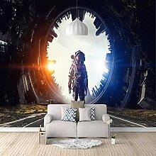 3D Fototapete Astronaut Vlies Wandtapete Moderne