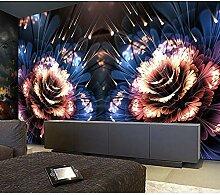 3D Fototapete Blume Schöne 3D Schlafzimmer Tapete
