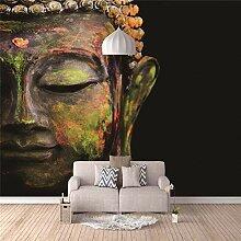 3D Fototapete Buddha Figur Wandbilder Moderne