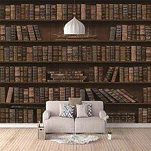 3D Fototapete Bücherregal Wandbilder Moderne