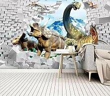 3D Fototapete Dinosaurier 250 x 175 cm Tapete 3D