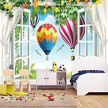 3D Fototapete Für Kinderzimmer 3D Raum Fenster