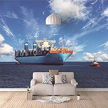 3D Fototapete Großes Schiff Wandbilder Moderne