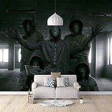 3D Fototapete Hacker Vlies Wandtapete Moderne