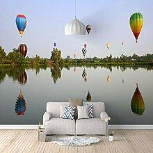 3D Fototapete Heißluftballon Vlies Wandtapete