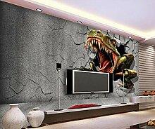 3D Fototapete Juradinosaurier 300 x 210 cm Tapete