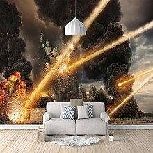 3D Fototapete Meteorit Vlies Wandtapete Moderne