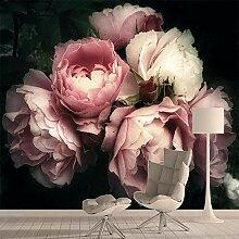3D-Fototapete mit Natur-Rosen-Motiv, für