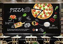 3D Fototapete Moderne Wanddeko Wandbilder Pizza