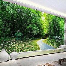 3D-Fototapete Naturlandschaft Bambuswald Kleine
